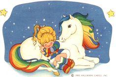 Rainbow Brite and Starlite Sleeping