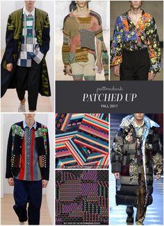 Menswear Autumn/Winter 2017 – Key Print and Pattern Trend Highlights Part 2 | Patternbank