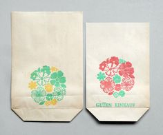 GDR shopping bags.