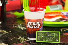Use the Forks Free Printable Star Wars Food Labels