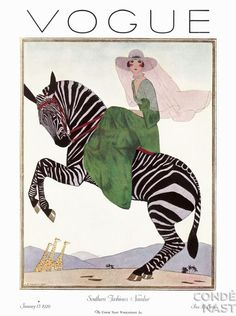 VOGUE    January 1926    Cover by André Édouard Marty