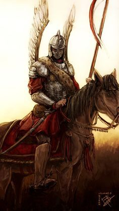 Polish Hussar. Incredible!