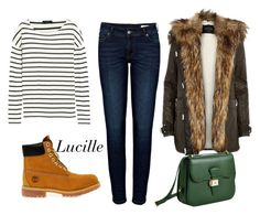 Berlin by luciakovacic on Polyvore featuring moda, J.Crew, Anine Bing, Timberland and Dressage Collection