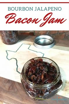 This bourbon bacon jam recipe is the perfect pairing for TexFest at HEB. Check out our spicy jalapeno spin of this delicious bacon jam!