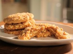 Double-Delight Peanut Butter Cookies : Recipes : Cooking Channel