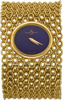 Baume & Mercier Lady's Gold Bracelet Watch, circa 1960's