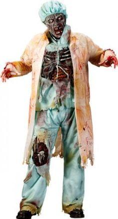Zombie Doktor 3D Deluxe Kostüm: Amazon.de: Spielzeug