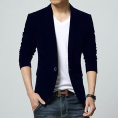 Cheap suit doll, Buy Quality suit slim directly from China suit sport Suppliers: Coffee/Black/Khaki British Style Casual Suit Jacket Slim Fit Blazer Men Brand Suits For Men Cheap Mens Blazers Free Ship Blazer Outfits Men, Komplette Outfits, Blazer Fashion, Men Fashion, Casual Suit Jacket, Casual Blazer, Blazer Suit, Unique Mens Suits, Terno Casual