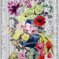 bosquet panel print - rose