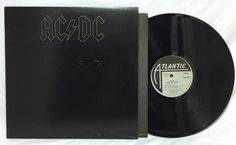 AC/DC Back in Black Vinyl Record Album LP SD16018 1980 Masterdisk Embossed Cover