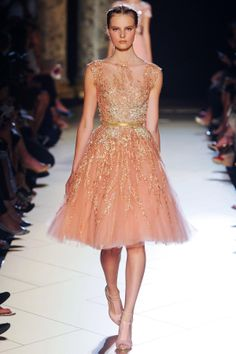 Elie Saab Fall 2012 Couture Collection - Fashion on TheCut