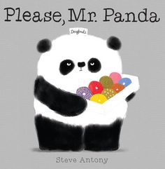 Book of the week: Please Mr. Panda by Steve Antony - What is the proper way to ask Mr. Panda for doughnuts? Patiently and politely, Mr. Panda asks the animals he comes across if they would like a doughnut. Is anyone worthy of Mr. Panda's doughnuts? New Books, Books To Read, Panda Craft, Album Jeunesse, Preschool Books, Book Activities, Eyfs Activities, Preschool Literacy, Donut Shop