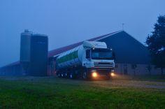 Milk tanker FrieslandCampina