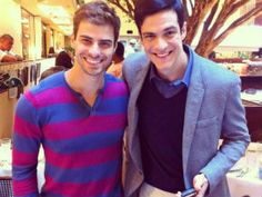 Lucas Malvacini e Mateus Solano