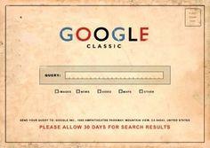 Classic Vintage Google Design