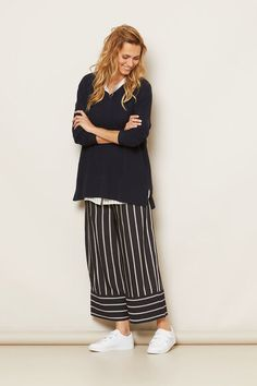 Ladies Fashion, Womens Fashion, Fall Winter, Autumn, Striped Pants, Lady, Striped Tights, Fall, Female Fashion