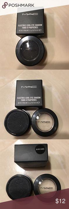 "Mac eyeshadow ""Black sands"" 100% auth new in box MAC Cosmetics Makeup Eyeshadow"
