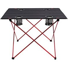 Modest Portable Outdoor Bbq Camping Picnic Aluminum Alloy Folding Table Portable Lightweight Rain-proof Mini Rectangle Table Outdoor Tables