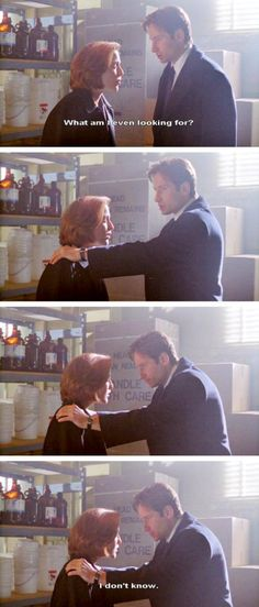Mulder = Me doing a research paper