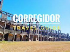Corregidor Tour Travel Guide Humid Weather, Island Tour, Day Tours, Travel Guides, Philippines, Improve Yourself, Places, Lugares