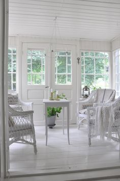 Sunroom off the bedroom would be nice!