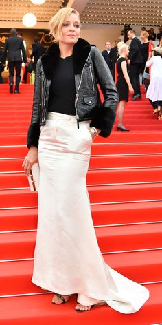 All the Celebrity Looks from the 2017 Cannes Film FestivalRed Carpet - Uma Thurman from InStyle.com