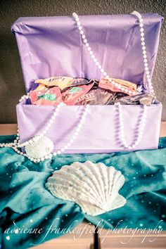 Under the Sea / Mermaid themed birthday party ideas for first birthday.