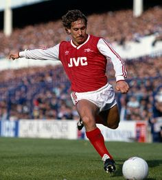 Kenny Sansom of Arsenal during the Tottenham Hotspur v Arsenal Division 1 match played at White Hart Lane on the October Get premium, high resolution news photos at Getty Images Peter Barnes, John Barnes, Pure Football, Arsenal Football, Arsenal Players, Arsenal Fc, Football Squads, Football Team, Kenny Sansom