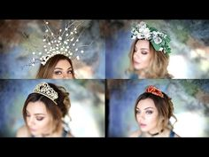Crown and Headpiece Collection - YouTube