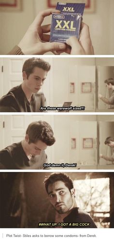 #TeenWolf  Stiles moments (x