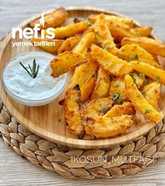 Turkish Recipes, Ethnic Recipes, Crispy Potatoes, Potato Chips, Sweet Potato, Diet Recipes, Clean Eating, Food And Drink, Yummy Food