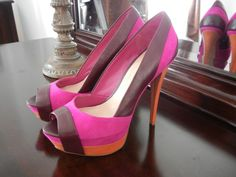 Jessica Shoes | jessica simpson shoes pink red heels spring 2012 neon