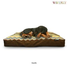 Waverly Zig Zag Gusset Pet Bed - Assorted Colors at 59% Savings off Retail!