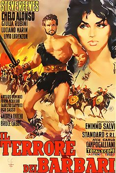 Movie Poster Mondays - Goliath and the Barbarians