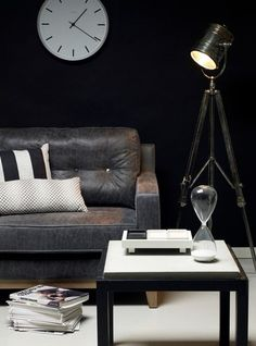 Lighting Ideas for your Industrial living room   Visit vintageindustrialstyle.com for more inspiring images