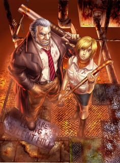 """videogamedames: """" • Old Silent Hill """""""