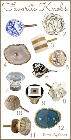 Gorgeous knobs for updating cabinetry Kitchen Cabinet Hardware, Kitchen Cabinets In Bathroom, Bathroom Hardware, Bathroom Fixtures, Knobs And Knockers, Knobs And Handles, Door Knobs, Kitchen Knobs And Pulls, Ikea Pax Closet