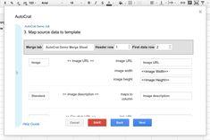 autoCrat in Google Sheets