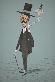 Gentleman  illustration by Joe Todd-Stanton