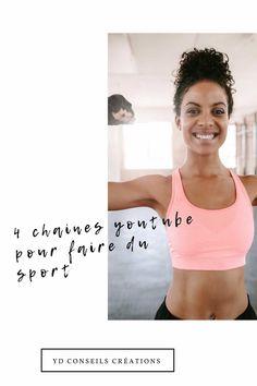 Et si on se mettait au sport, je vous propose 4 chaines YouTube et une coach personnelle pour vous aider à avancer sur votre programme sportif