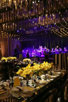 Creative Partners: Design and Planning: Special Occasions Event Planning | Floral Design: Eric Buterbaugh | Lighting: Images by Lighting | Sound: No Static AV | Invitations: Lehr & Black | Photography: Joan Fuller Photography | Venue: Montage Beverly Hills | Entertainment: Hall and Oates