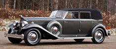 1932 Packard Twin Six Sedan Convertible Dietrich