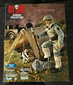 G.I. Joe Classic Collection First in Series Limited Edition World War II D-Day Salute by Kenner, 1997 - I have this one.