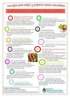 consejos para hacer comidas saludables
