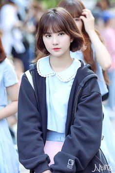 GFriend - Eunha Japanese Beauty, Asian Beauty, South Korean Girls, Korean Girl Groups, Asian Woman, Asian Girl, Love Fashion, Korean Fashion, Instagram V