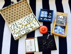 Choice of Vintage Games including: Boxed by JesseDimondDesign