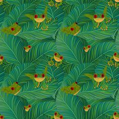 Peepers fabric by vo_aka_virginiao on Spoonflower - custom fabric