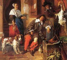 Metsu Gabriel (1629 — 1667) The Sleeping Sportsman 1657-59