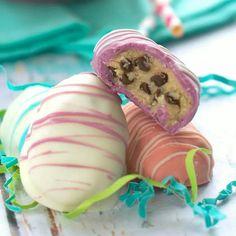 Cookie dough ester eggs