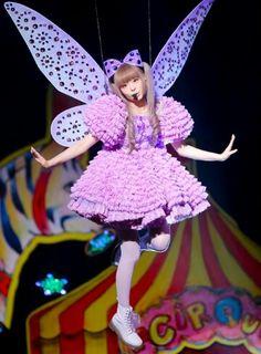 Kyary Pamyu Pamyu in her cute faerie costume! Harajuku Fashion, Kawaii Fashion, Lolita Fashion, Harajuku Style, Kyary Pamyu Pamyu, Japanese Street Fashion, Asian Fashion, Divas, Kei Visual